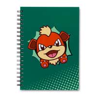 Image for Growlithe Hip Pop Parade Spiral Notebook (200 Pages) from Pokemon Center