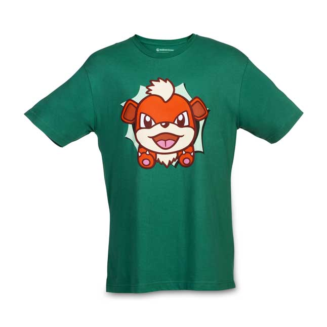 Image for Growlithe Hip Pop Parade Relaxed Fit Crewneck T-Shirt from Pokemon Center