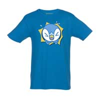 Piplup Hip Pop Parade Relaxed Fit Crewneck T-Shirt