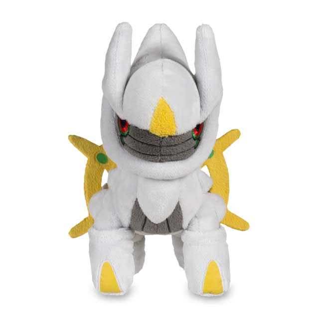 "Image for Arceus Poké Doll (Standard Size) - 6 3/4"" from Pokemon Center"