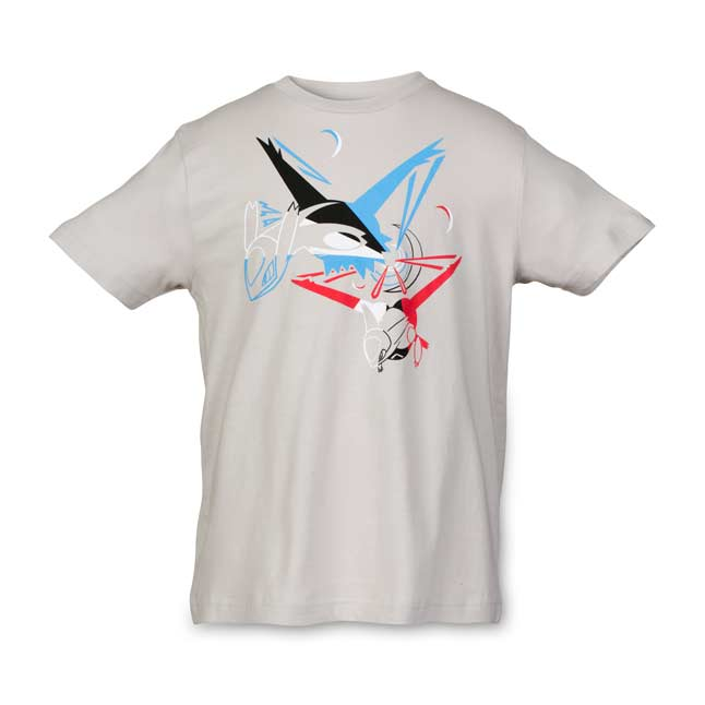 Image for Latios & Latias Eon Edge Youth Relaxed Fit Crewneck T-Shirt from Pokemon Center