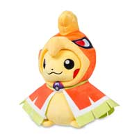 Image for Pikachu with Ho-Oh Hoodie Poké Plush (Standard) - 8 In. from Pokemon Center