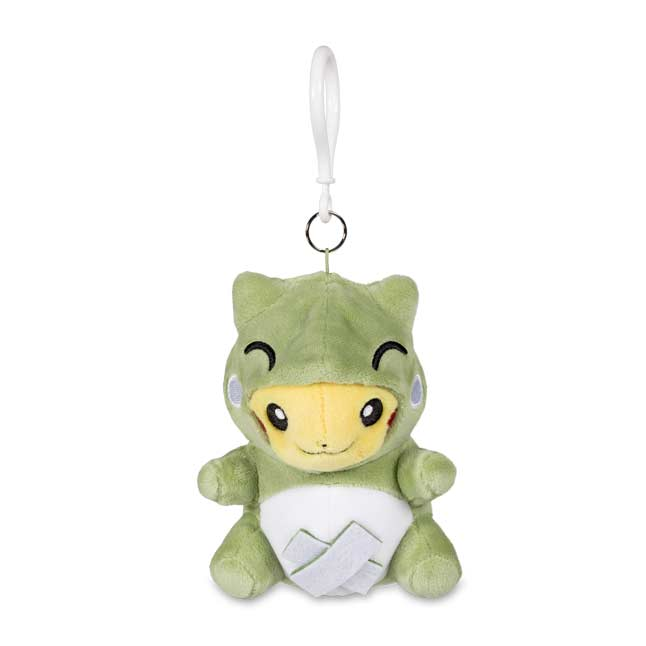 Image for Pokémon-Amie Substitute Pikachu Plush Keychain from Pokemon Center
