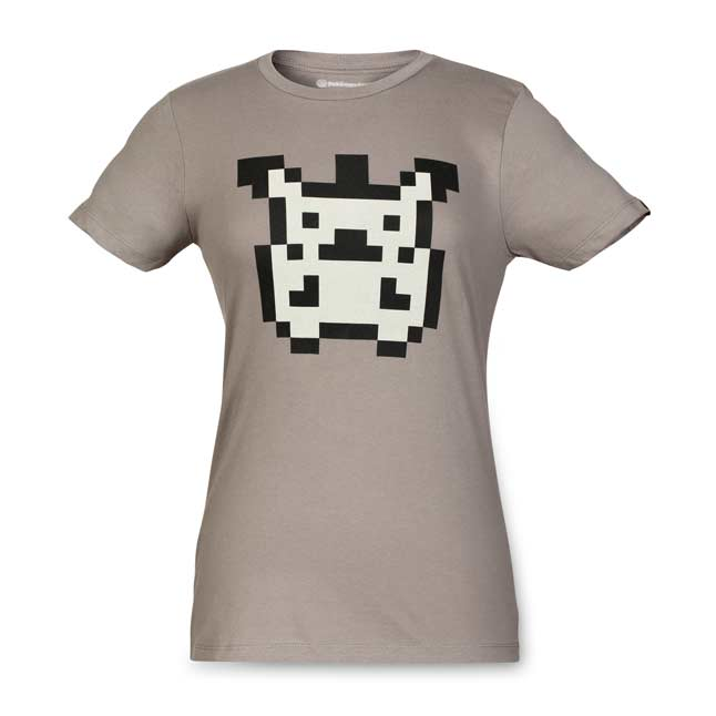Image for Original Pixels Women's Fitted Crewneck T-Shirt from Pokemon Center
