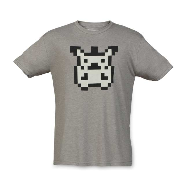 Image for Original Pixels Men's Fitted Crewneck T-Shirt from Pokemon Center