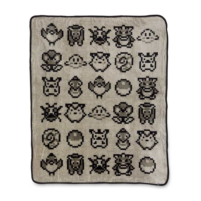 Image for Original Pixels Fleece Throw from Pokemon Center