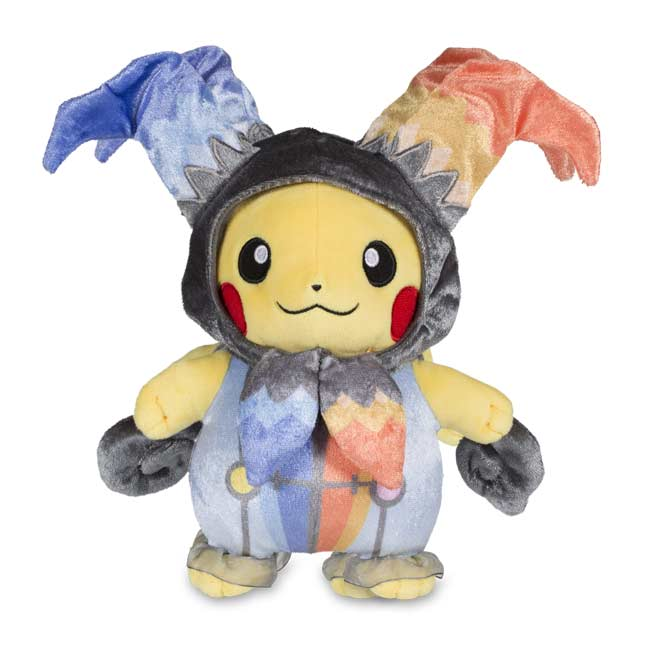 "Image for Pikachu Halloween Circus Poké Plush (Standard) - 8.5"" from Pokemon Center"