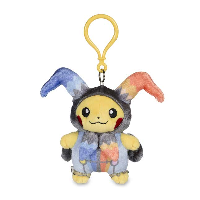 Image for Pikachu Halloween Circus Plush Keychain from Pokemon Center