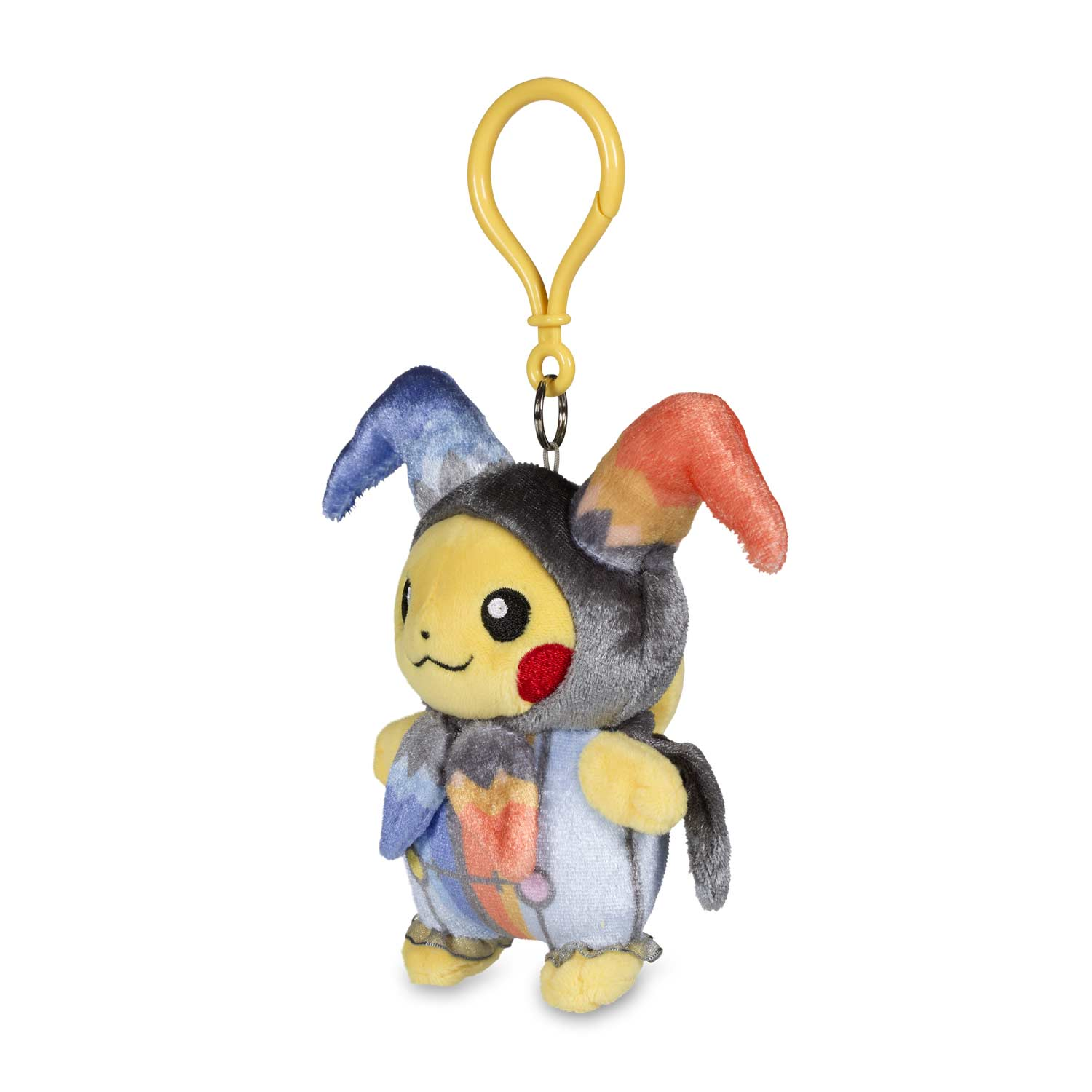 pikachu halloween circus plush keychain | pokémon center original