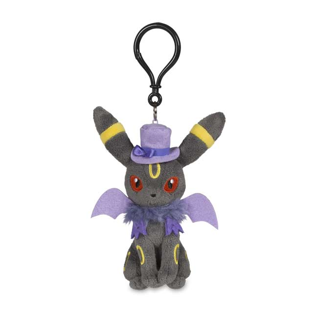 Image for Umbreon Halloween Circus Plush Keychain from Pokemon Center