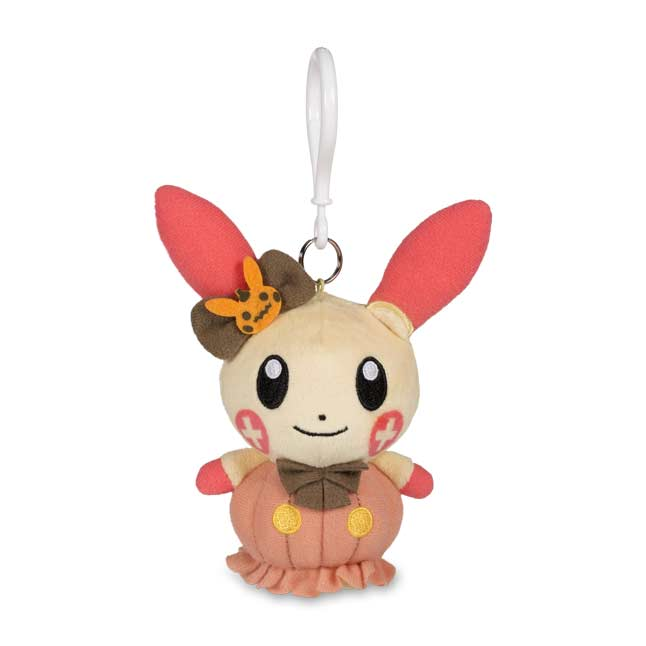 Image for Plusle Halloween Circus Plush Keychain from Pokemon Center