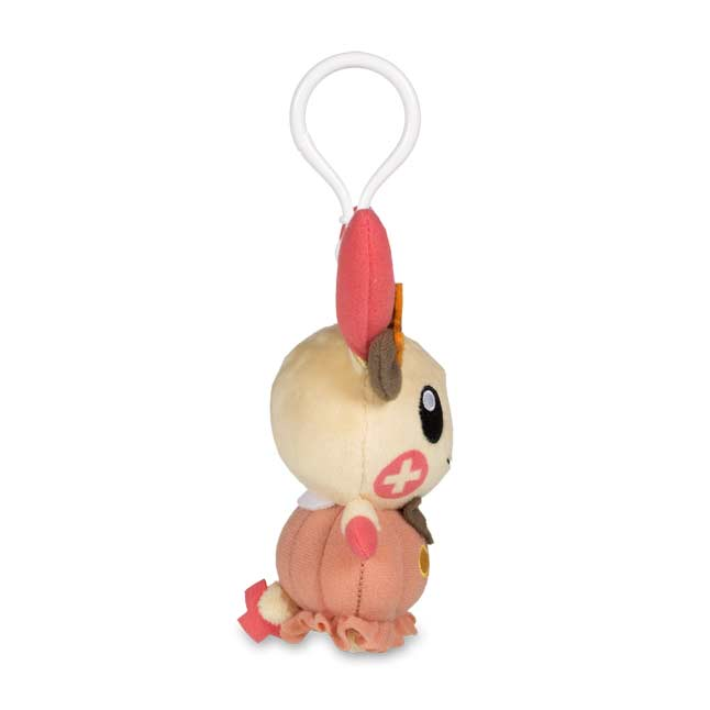 Image for Plusle Halloween Circus Plush Keychain from Pokémon Center