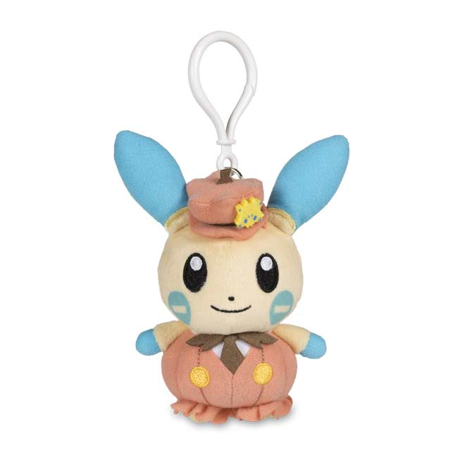 Image for Minun Halloween Circus Plush Keychain from Pokemon Center