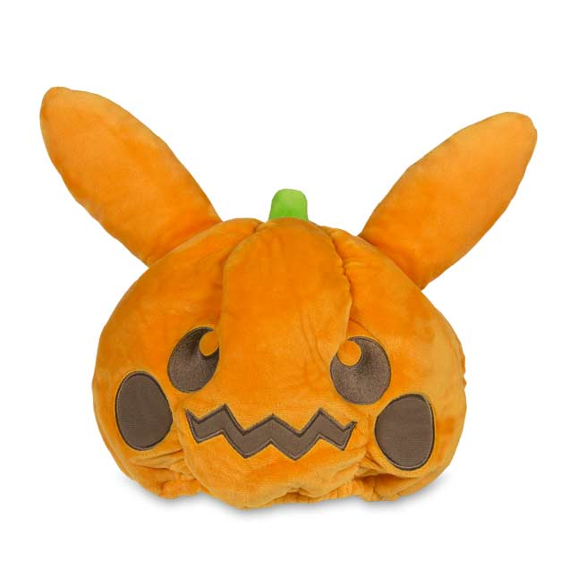 Image for Pikachu Pumpkin Plush Hat from Pokemon Center