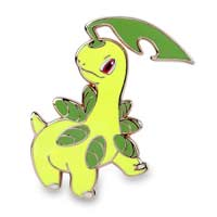 Image for Bayleef Quilava Croconaw Pokémon Pins from Pokemon Center