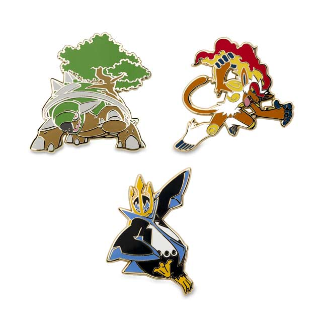 Image for Torterra Infernape Empoleon Pokémon Pins from Pokemon Center