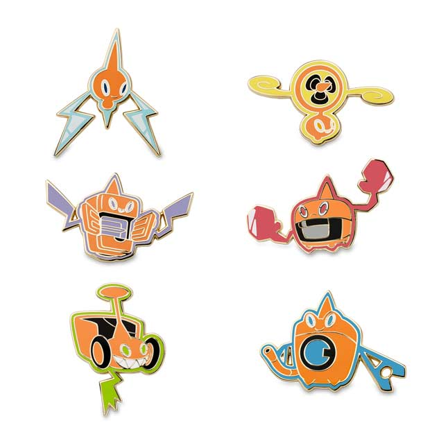 Image for Rotom Forms Pokémon Pins from Pokemon Center