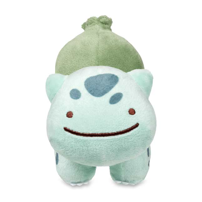 "Image for Ditto as Bulbasaur Poké Plush (Standard Size) - 5 1/2"" from Pokemon Center"