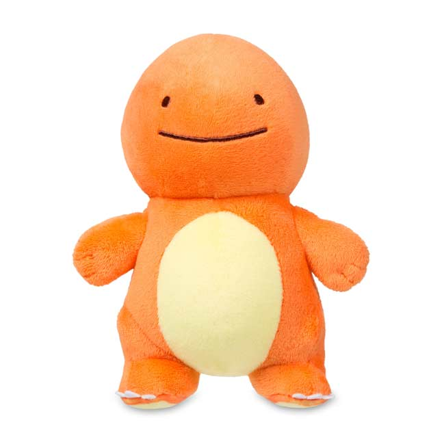 "Image for Ditto as Charmander Poké Plush (Standard Size) - 6"" from Pokemon Center"