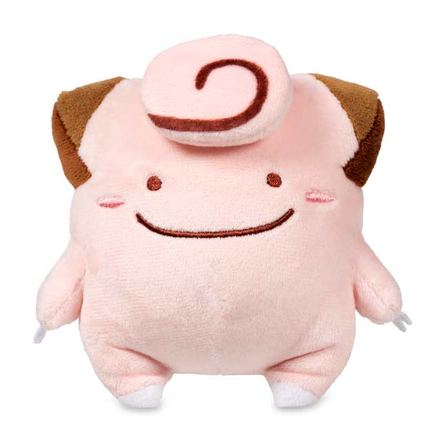 "Image for Ditto as Clefairy Poké Plush (Standard) - 5"" from Pokemon Center"
