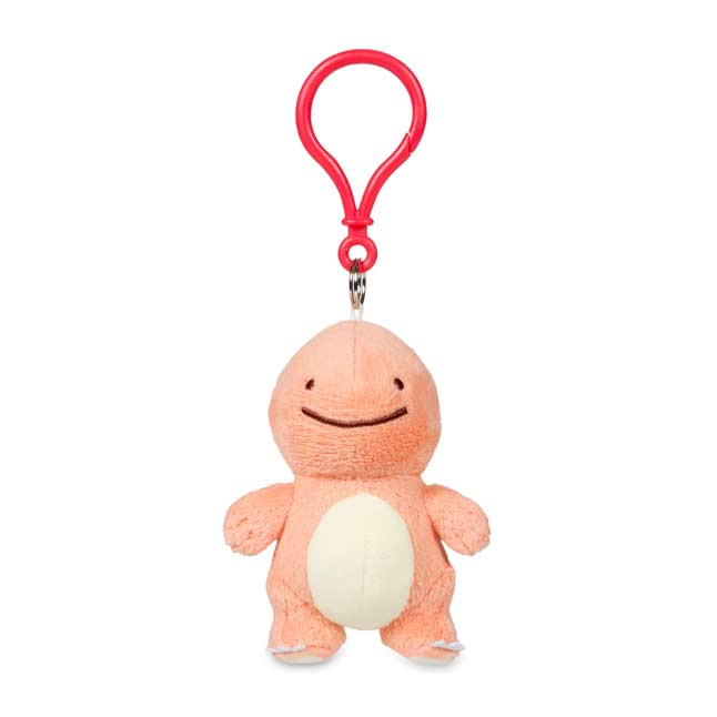 Image for Ditto as Charmander Plush Keychain from Pokemon Center