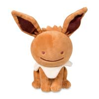 Ditto as Eevee Poké Plush (Standard Size) - 6 3/4 In.