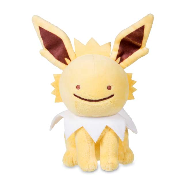 "Image for Ditto as Jolteon Poké Plush (Standard Size) - 6 1/2"" from Pokemon Center"