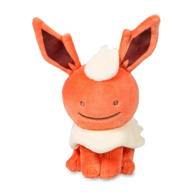"Image for Ditto as Flareon Poké Plush (Standard Size) - 6 1/2"" from Pokemon Center"