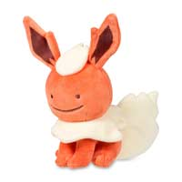 Image for Ditto as Flareon Poké Plush (Standard Size) - 6 1/2 In. from Pokemon Center