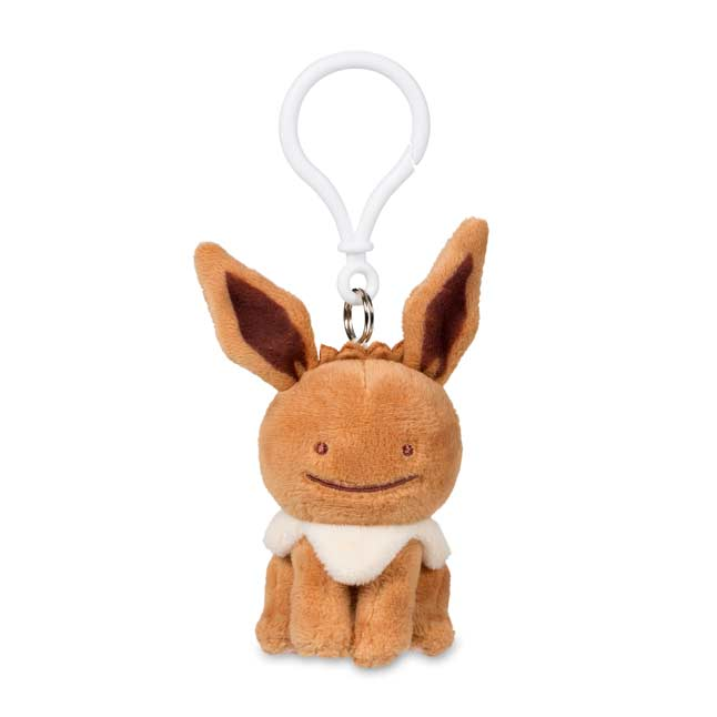 Image for Ditto as Eevee Plush Keychain from Pokemon Center