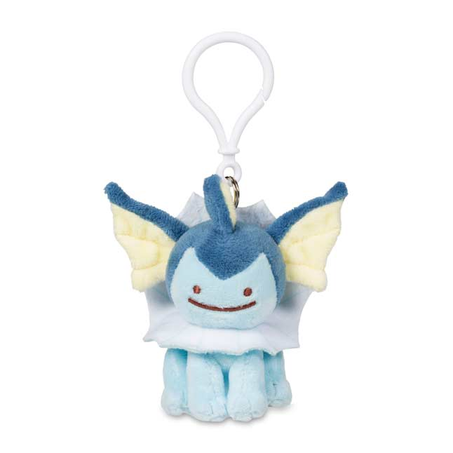 Image for Ditto as Vaporeon Plush Keychain from Pokemon Center