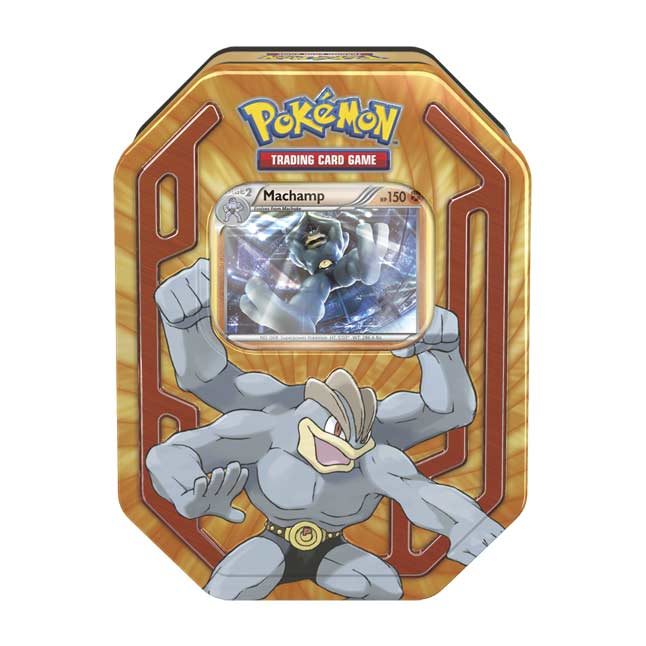 Image for Pokémon TCG: Pokémon Champions Tin (Machamp) from Pokemon Center