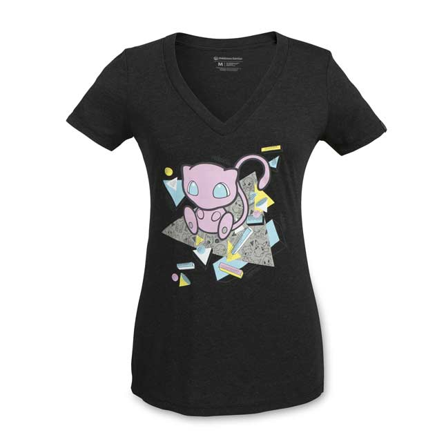 Image for Mew Mythical Mania Women's Fitted V-Neck T-Shirt from Pokemon Center