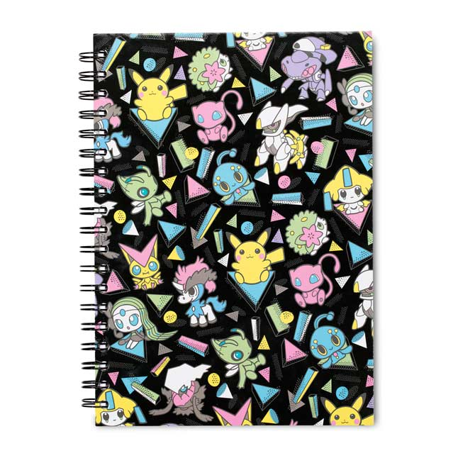 Image for Mythical Mania Notebook (200 Pages) from Pokemon Center