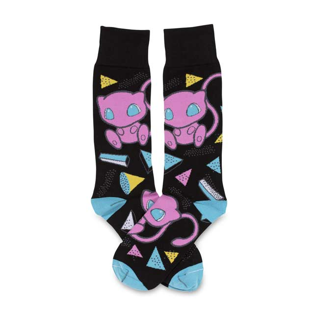 Image for Mew Mythical Mania Mid-Calf Socks (Adult-One Size) from Pokémon Center