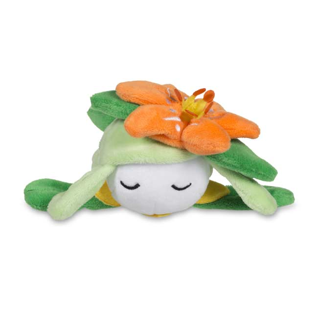 Image for Sleeping Lilligant Kuttari Cutie Poké Plush from Pokemon Center