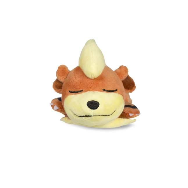 Image for Sleeping Growlithe Kuttari Cutie Poké Plush from Pokemon Center