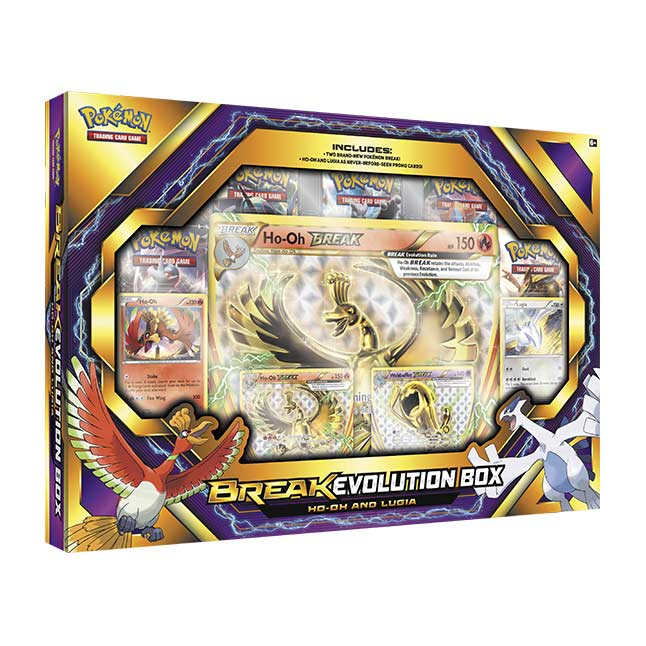 Image for Pokémon TCG: BREAK Evolution Box Featuring Ho-Oh and Lugia from Pokemon Center