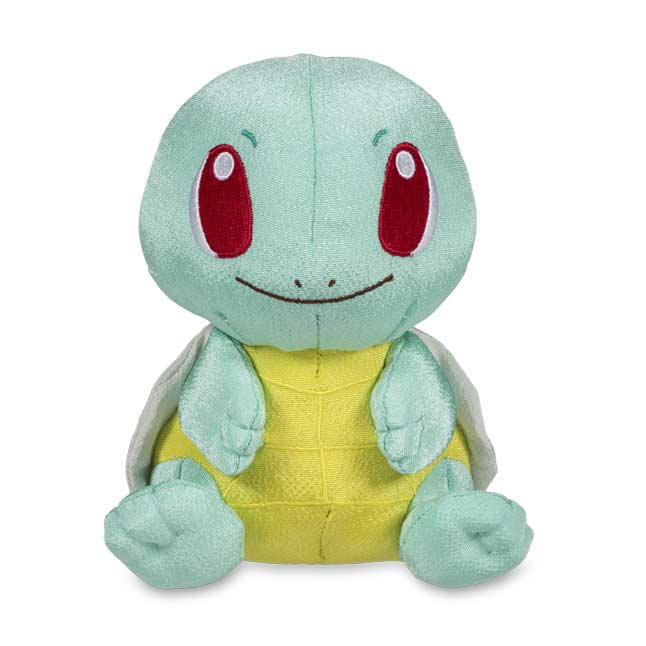 "Image for Squirtle Chirimen Poké Plush (Standard Size) - 6"" from Pokemon Center"