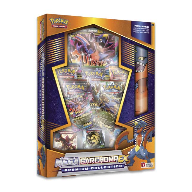Image for Pokémon TCG: Mega Garchomp-EX Premium Collection from Pokemon Center