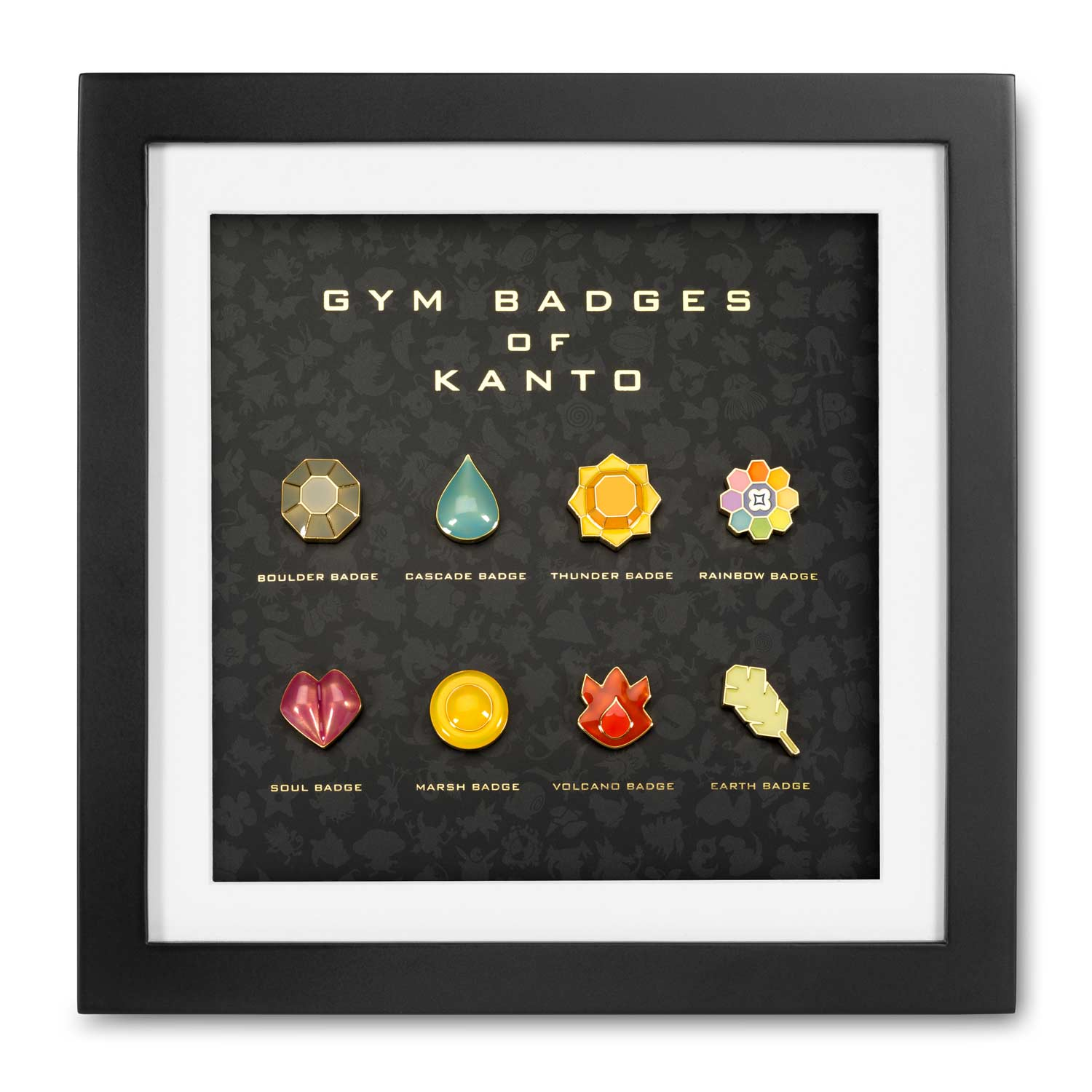 Kanto Premium Gym Badge Set