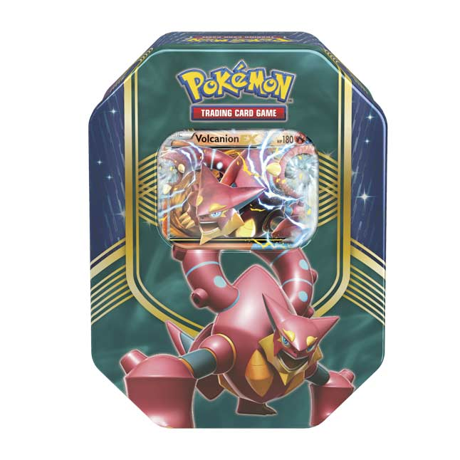 Image for Pokémon TCG: Battle Heart Tin (Volcanion) from Pokemon Center