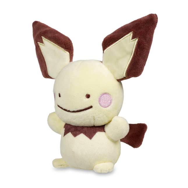 "Image for Ditto as Pichu Poké Plush (Standard Size) - 7"" from Pokemon Center"
