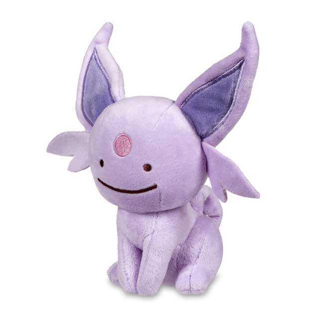 Image for Ditto as Espeon Poké Plush (Standard Size) - 7 In. from Pokemon Center