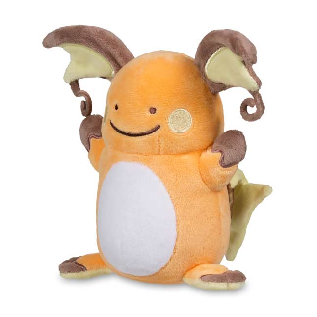 "Image for Ditto as Raichu Poké Plush (Standard Size) - 5 1/2"" from Pokemon Center"