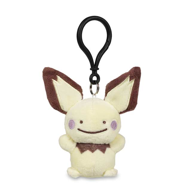 Image for Ditto as Pichu Poké Plush Keychain from Pokemon Center