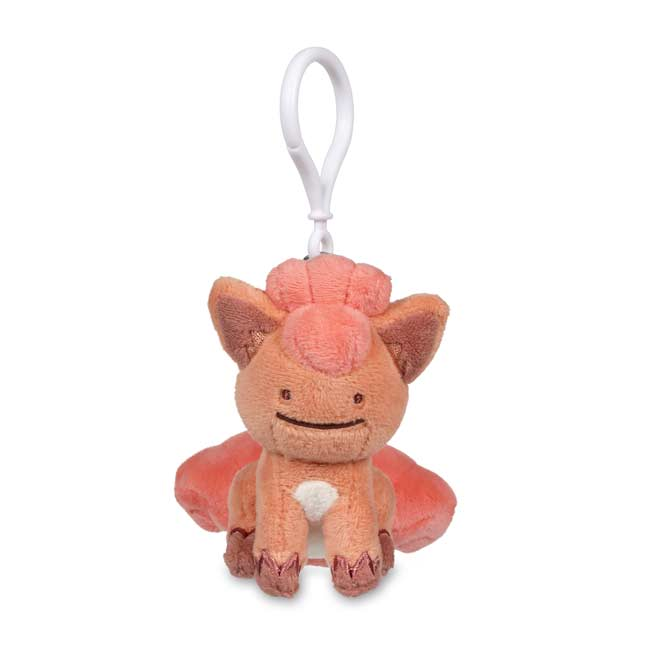 Image for Ditto as Vulpix Poké Plush Keychain from Pokemon Center