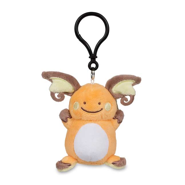 Image for Ditto as Raichu Poké Plush Keychain from Pokemon Center