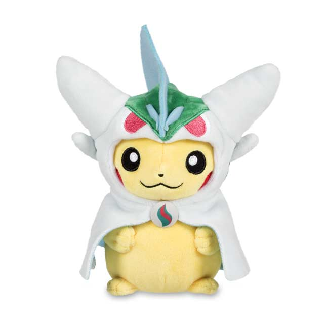 "Image for Pikachu with Mega Gallade Hoodie Poké Plush (Standard) - 8"" from Pokemon Center"