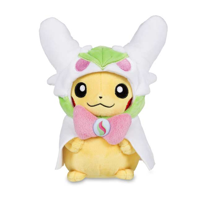 "Image for Pikachu with Mega Gardevoir Hoodie Poké Plush (Standard) - 8"" from Pokemon Center"